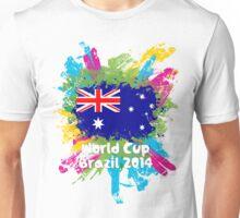 World Cup Brazil 2014 - Australia Unisex T-Shirt