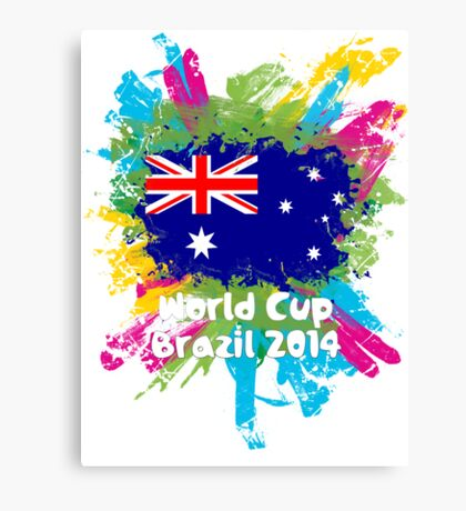 World Cup Brazil 2014 - Australia Canvas Print