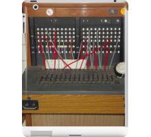 Telephone Exchange Vintage iPad Case/Skin
