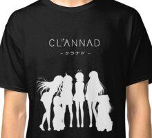 CLANNAD - Main Girls (White Edition) Classic T-Shirt