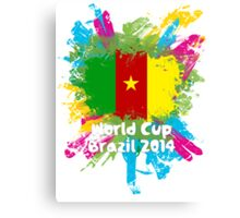 World Cup Brazil 2014 - Cameroon Canvas Print