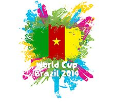 World Cup Brazil 2014 - Cameroon Photographic Print