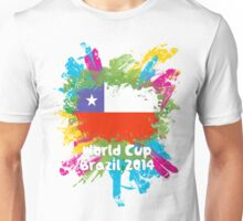 World Cup Brazil 2014 - Chile Unisex T-Shirt
