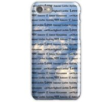 Love is in the Air Background iPhone Case/Skin