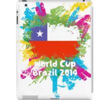 World Cup Brazil 2014 - Chile iPad Case/Skin