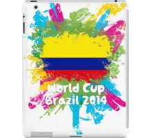 World Cup Brazil 2014 - Colombia iPad Case/Skin