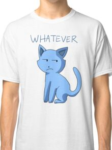 Apathetic Cartoon Cat Tee Design Classic T-Shirt