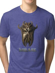 Miraak - Dragonborn/Dragonpriest Tri-blend T-Shirt