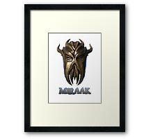Miraak - Dragonborn/Dragonpriest Framed Print
