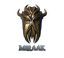 Miraak - Dragonborn/Dragonpriest Photographic Print