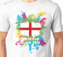 World Cup Brazil 2014 - England Unisex T-Shirt