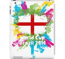 World Cup Brazil 2014 - England iPad Case/Skin
