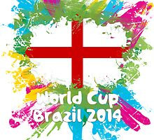 World Cup Brazil 2014 - England by matys103