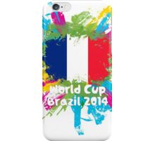 World Cup Brazil 2014 - France iPhone Case/Skin