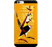 """AUSTRALIA"" Art Deco Kangaroo's Travel Print iPhone Case/Skin"