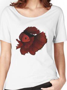 Red betta Women's Relaxed Fit T-Shirt