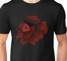 Red betta Unisex T-Shirt