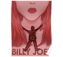 GUS3 Billy Joel the Piano man Tour 2016 Poster