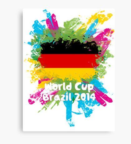 World Cup Brazil 2014 - Germany Canvas Print