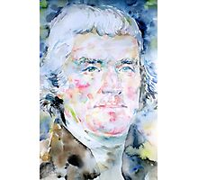 THOMAS JEFFERSON - watercolor portrait Photographic Print