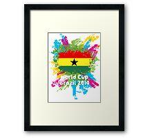 World Cup Brazil 2014 - Ghana Framed Print