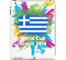 World Cup Brazil 2014 - Greece iPad Case/Skin