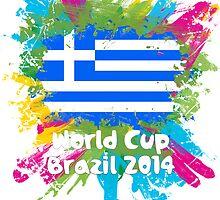 World Cup Brazil 2014 - Greece by matys103