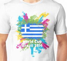 World Cup Brazil 2014 - Greece Unisex T-Shirt