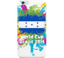World Cup Brazil 2014 - Honduras iPhone Case/Skin