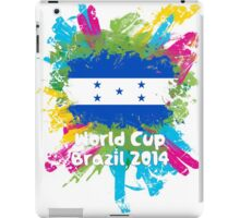 World Cup Brazil 2014 - Honduras iPad Case/Skin