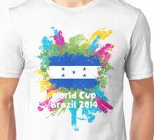 World Cup Brazil 2014 - Honduras Unisex T-Shirt
