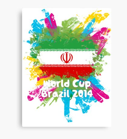 World Cup Brazil 2014 - Iran Canvas Print