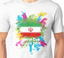 World Cup Brazil 2014 - Iran Unisex T-Shirt