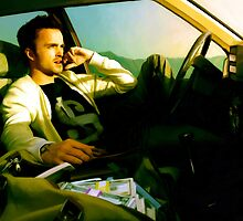 Aaron Paul by Gabriel T Toro