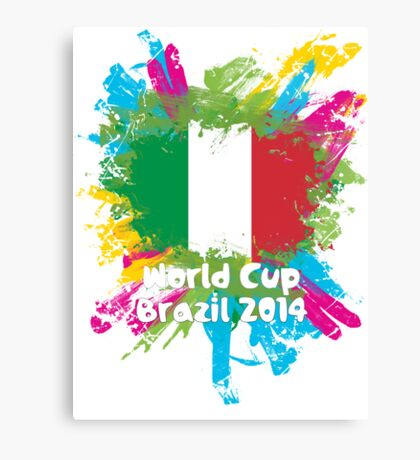 World Cup Brazil 2014 - Italy Canvas Print