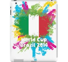 World Cup Brazil 2014 - Italy iPad Case/Skin