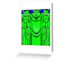 Frankensteins Fellowship Greeting Card