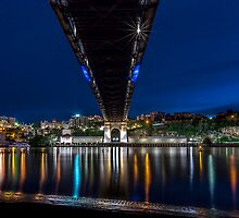 Under the Bridge - Brisbane Qld Australia by Beth  Wode