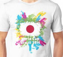 World Cup Brazil 2014 - Japan Unisex T-Shirt