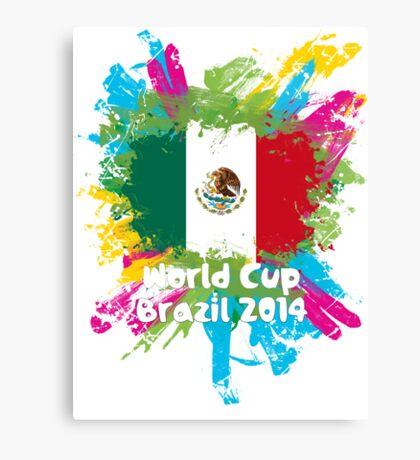 World Cup Brazil 2014 - Mexico Canvas Print
