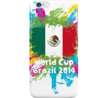 World Cup Brazil 2014 - Mexico iPhone Case/Skin