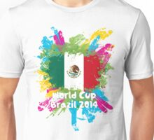 World Cup Brazil 2014 - Mexico Unisex T-Shirt