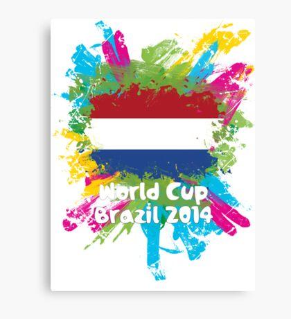 World Cup Brazil 2014 - Netherlands Canvas Print