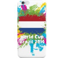 World Cup Brazil 2014 - Netherlands iPhone Case/Skin