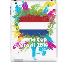 World Cup Brazil 2014 - Netherlands iPad Case/Skin