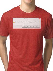Twenty One Pilots: Message Man Error Tri-blend T-Shirt