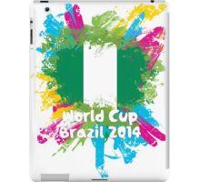 World Cup Brazil 2014 - Nigeria iPad Case/Skin