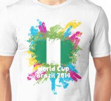 World Cup Brazil 2014 - Nigeria Unisex T-Shirt