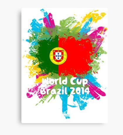 World Cup Brazil 2014 - Portugal Canvas Print