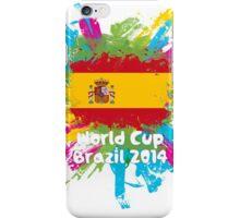 World Cup Brazil 2014 - Spain iPhone Case/Skin